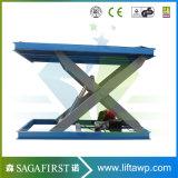 Professional utilisées dans le bois Facotry hydraulique de rouleau de l'élévateur de type ciseaux
