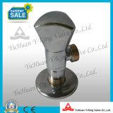 Chromed покрынный угловой вентиль треугольника латунный (YD-F5027)