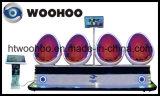 Игровая площадка для установки внутри помещений 9d яичной скорлупы Vr оборудования домашнего кинотеатра 4 игроков