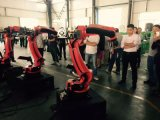 Neues Faser-Laser-Schweißgerät des Roboter-3D für Automobilindustrie