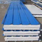 Hoja de acero prepintada Az100 del material para techos del Galvalume G550 para la casa