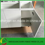 普及した白いメラミン食器棚の卸売の中国の食器棚の台所家具