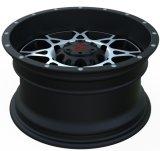 黒い機械表面UFO-895が付いている4X4合金の車輪