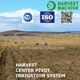 Sistema de irrigación de centro movible del pivote de la granja