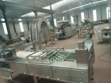 Польностью автоматическая производственная линия печенья вафли/вафля машины печенья вафли Saiheng полноавтоматическая плоская делая машину