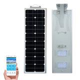 indicatore luminoso di via solare Integrated esterno del sensore di movimento 40W LED