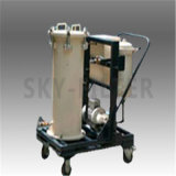 Эффективный вакуумный тележек Box-Type масляного фильтра
