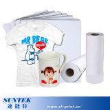 Papel de impressão de transferência do Sublimation da imprensa do calor para a Mug&T-Camisa