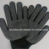 7g черная строка из одного из ПВХ пунктирной перчатки