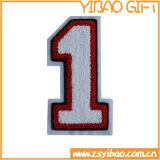 De Flarden van Chenille van het borduurwerk met passen Embleem voor het Jasje van Jeans aan (yB-e-014)