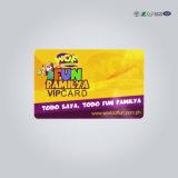 Qualidade superior cr80 cartões RFID VIP cartão plástico personalizada