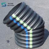 高い保護パフォーマンスのHDPEの二重壁の波形の管