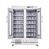Approbation Ce 1000L Banque de sang de tiroir réfrigérateur