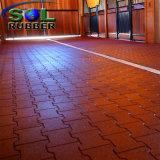 Mattonelle di pavimento di gomma dell'interruttore di sicurezza della stalla ad alta densità del cavallo