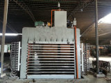 Máquina quente da imprensa da madeira compensada para fazer Bosrds de madeira