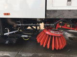 1200 Gallonen Straßen-Wäsche-und Plasterungs-Kehrmaschine des Reinigungs-LKW-4X2
