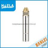 Versenkbare Wasser-Pumpe des Edelstahl-4skm100