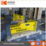 De Doos van de Fabrikant van Yantai bracht Hydraulische Breker voor de Lader van de Jonge os van de Steunbalk tot zwijgen