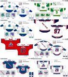 Customized Homens Mulheres Crianças Liga de Hóquei Americana Hartford Wolf Pack 2007-2015 Hóquei no Gelo Jersey