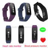 De Slimme Armband van Bluetooth met de Monitor van het Tarief en Van de Bloeddruk van het Hart Hb06