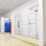 Framelessの5/16インチ厚く明確な緩和されたガラスのシャワーのキュービクルのシャワー機構