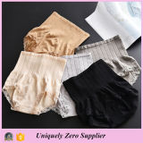 2016 Selling caldo Women High Waist Butt Lift Pant con Lace Hem Underwear