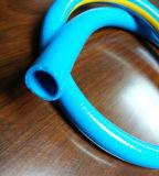 Bleu Rouge Jaune flexible d'eau de couleur pour le système de nettoyage de tubes de vinyle