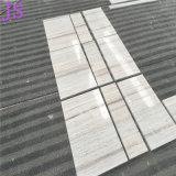 Популярный естественный кристаллический деревянный сляб мрамора зерна используемый для плиток пола/плиток стены