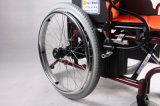 Medizinisches Produkt-elektrischer Strom-Aluminium, das preiswerten Preis-Rollstuhl faltet