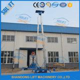 الصين هيدروليّة خارجيّة ألومنيوم مصعد مصعد لأنّ عمليّة بيع