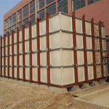 Quadratisches SMC Wasser FRP GRP 5000 Liter-Wasser-Becken