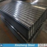 Tetto d'acciaio ondulato galvanizzato dello strato del tetto del metallo in pieno duro