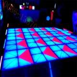 Farbenreiches Tanzen-Panel LED-Dance Floor RGB für Stadiums-Hochzeit