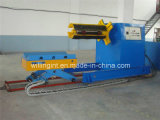 10 ton van Automatische Hydraulische Uncoiler met de Auto van de Rol