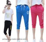 Pantaloni allentati casuali del cotone femminile di alta qualità che pareggiano gli Shorts