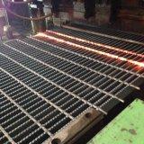 Grille galvanisée pour le passage couvert de structure métallique