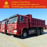 Camion à benne basculante du camion- de la Chine 6*4 Euro2 à vendre l'exportation vers l'Afrique
