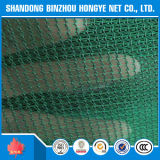 Material de PP reciclado barato Rede de segurança de construção / malha de plástico