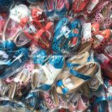 Vendant les chaussures courantes de danse de chaussures de filles de modèles de mélange (20160404-2)