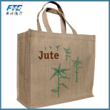 Eco-Friendly OEM Cheap Jute Shopping Tote Bag
