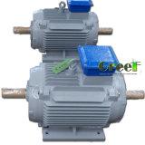 1500kw 1.5MW CA de 3 fases generador síncrono de poca velocidad/de imán permanente de la revolución por minuto, viento/agua/potencia hidráulica