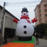 Pupazzo di neve gonfiabile personalizzato di natale (CS-082)