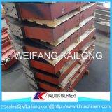 Linha de molde caixa do carro da pálete da alta qualidade de molde usada para a fundição