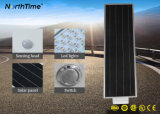 Kühle weiße integrierte LED Solarstraßenlaterne des Karosserien-Bewegungs-Fühler-