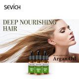 Olio organico del Argan dei capelli della vitamina E per il trattamento di cura di capelli