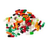 Plus de 200 couleurs disponibles capsule de gélatine bovine Halal vide