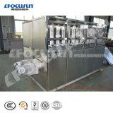 Tipo Uso Inductrial Focusun Cube máquina de gelo preço de fábrica 3t/dia