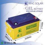 3 anos de bateria profunda da potência solar do ciclo da garantia 12V 65ah