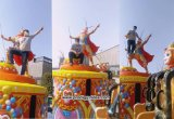 Outdoor Playground Monkey King Ride Jumping Machine para o parque de diversões