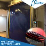 ジッパーのドアの自己修復高速PVC産業ドアをリセットしなさい